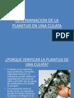 Determinacion de Planitud de La CulataPLANITUD PRESENTAR