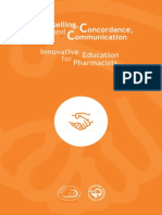 Counselling, Concordance, And Communication - Innovative Education for Pharmacists