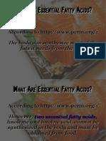 Essential Fatty Acids PDF