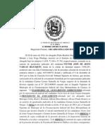 Sentencia Divorcio 185-A TSJ 2014
