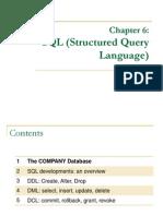 Chapter 6 SQL