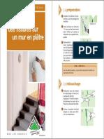 [Brico] LM - Je Rebouche Des Fissures Sur Un Mur en Plâtre-MA.08