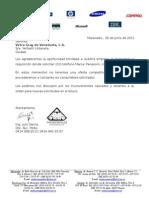 Carta Excusa Vetco Gray 02-06-2011