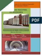 Geomecánica - Determinación de RMR y GSI
