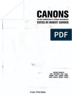 Currier - Canons for Any Combination of Stringed Instruments (tacher's book) 1/1