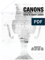 Currier - Canons for Any Combination of Stringed Instruments (viola) 1/1