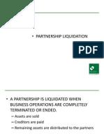Partnership Liquidation 1