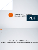 Vasileios Tziokas Sample Portfolio July 2014