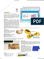 2D PCB ~ Printed Circuit Board Design and Manufacture Software