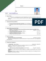 Hemant Raidas Resume