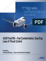 A330 HKG Fuel Contamination