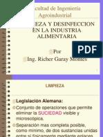 Limpieza y Desinfeccion en La Ind. Alim. Cap. III