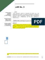 Informe Taller No. 4