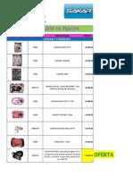 Lista de Precios SAKAR NUEVA-1
