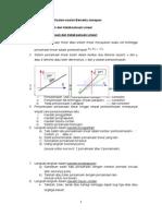 Tugasan 1 - A)Sistem Persamaan Linear