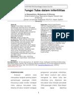 Evaluasi Fungsi Tuba Dalam Infertilitas