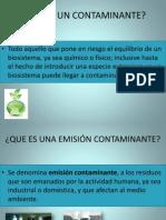 COMPENSACION DE EMISIONES Y NORMAS AMBIENTALES