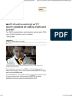 World Education Rankings
