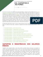 Analise Técnica - Suportes e Resistências No Forex _ Como Ganhar Dinheiro