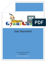 User Document GyaniGuruji