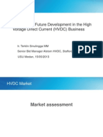 Current and Future Customers in HVDC Market USU 15 May 2013 Final