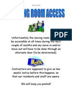 moving room access