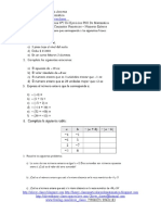 Guía N°2 De Ejercicios PSU De Matemática - Conjuntos Numéricos y Números Enteros