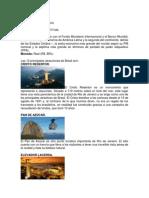 Informacion Basica de Los 16 Paises Del Mundial
