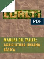 Datos Agrop. Agricultura Urbana Basica