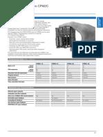 Compact PLC Series CPM2C(Caracteristicas)