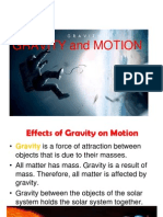 Assignment Gravity and Motion