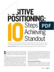 Ten Steps to Achieving Standout Positioning[1]