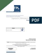 Organización y Administración Empresarial