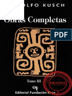 KUSCH, R. Obras Completas T III