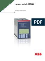 ABB_ATS022_Manual_1SDH000760R0002