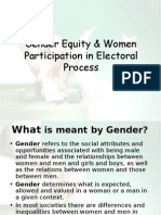 Gender Equity and Human Rights
