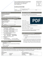 Membership Form Accounting Tech
