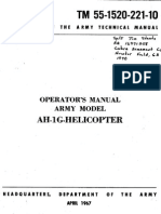 Operators Manual Army Model AH-1G Helicopter
