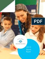 Yeshivat He'Atid Annual Report 2013