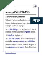 Architecture Des Ordi