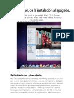 Sistema Operativo MAC OS SERVER