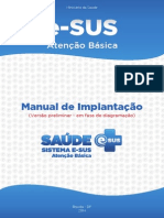 Manual Implantacao Esus