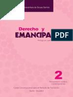 BOAVENTURA de SOUZA SANTOS Derecho y Emancipacion 1ra Reimp 2012
