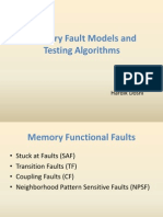 Memory Testing Algorithm