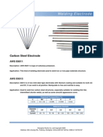 Welding Electrode Manual