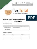 Manual Para Colaboradores HD1, HD2, HD3 e BO