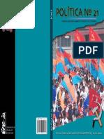33180316 Revista POLITICA 21 Partido Comunista Marxista Leninista Del Ecuador