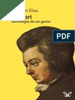 Elias, Norbert - Mozart. Sociologia de Un Genio [16265] (r1.0 Diegoan)