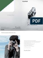 Finepix x100 Catalogue 01