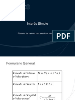 Interes Simple - Interes Compuesto PPT